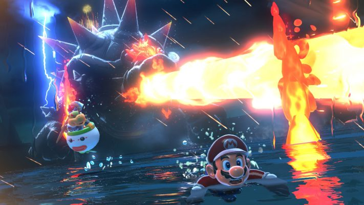 Super Mario 3D World + Bowser's Fury spot