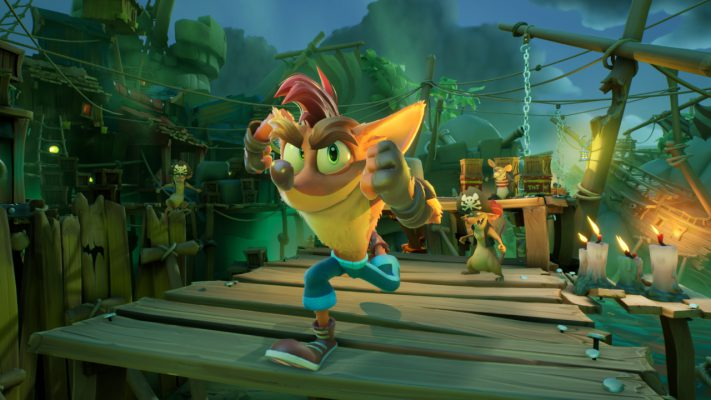 Crash Bandicoot 4: It's About Time new gen Switch