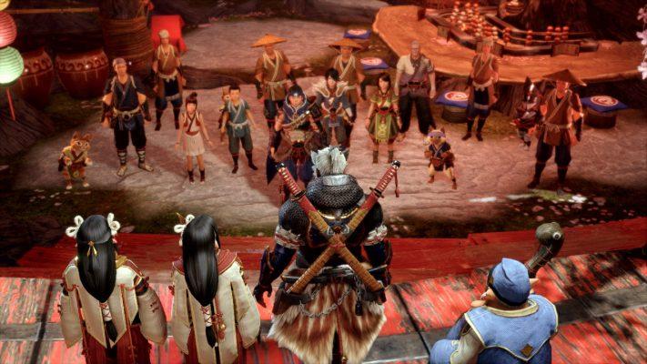Monster Hunter Rise trailer La Furia