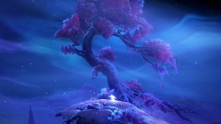 Ori and the Will of the Wisps foresta pluviale
