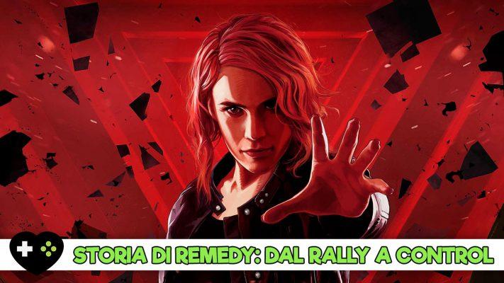 Dal rally a Control: la storia di Remedy attraverso i suoi giochi