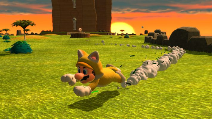 Super Mario 3D World + Bowser's Fury trailer lancio