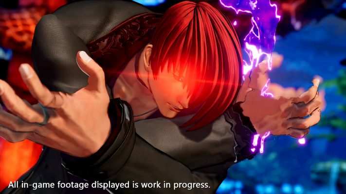 The King of Fighters XV trailer Iori Yagami