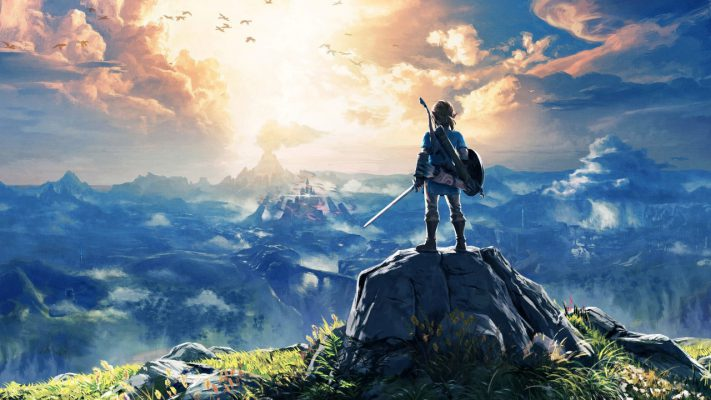 The Legend of Zelda Breath of the Wild immagine in evidenza