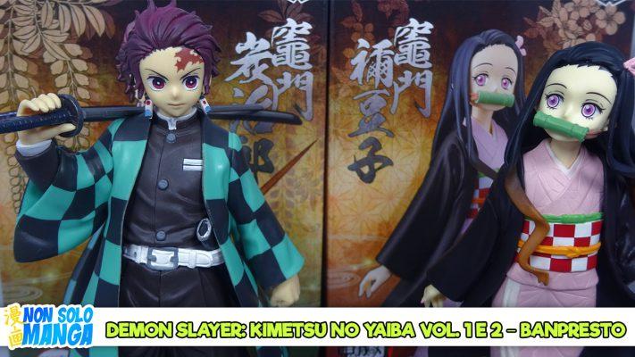 Manganalisi di Demon Slayer Vol. 1 e 2 – Banpresto