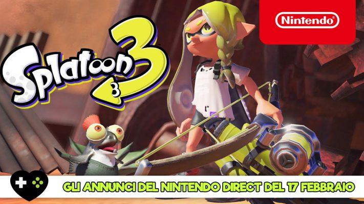 Tutti gli annunci del Nintendo Direct del 17 febbraio