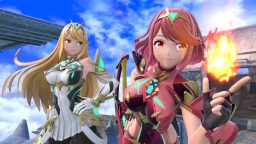 Super Smash Bros. Pyra Mythra data