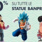 Da GameStopZing statue di Dragon Ball, One Piece e tante altre scontate del 10%
