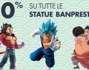 Da GameStopZing statue di Dragon Ball, One Piece e tante altre scontate del 10%