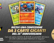 Pokémon GCC: carte giganti in regalo da GameStopZing, la seconda parte!