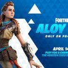 Fortnite Aloy copertina
