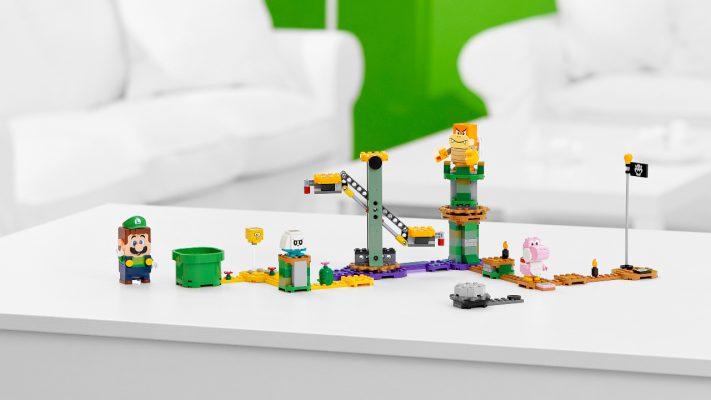 LEGO Super Mario Avventure di Luigi Starter Pack copertina