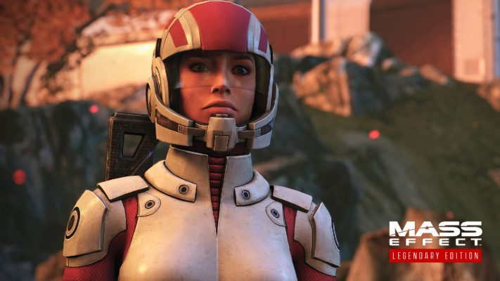 Mass Effect Legendary Edition trailer comparativo