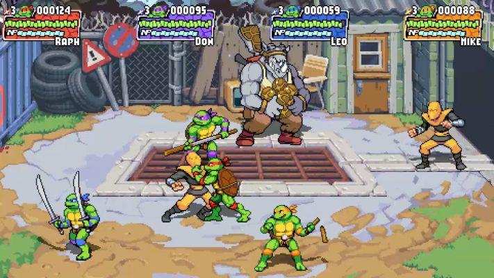 Teenage Mutant Ninja Turtles: Shredder's Revenge Nintendo Switch