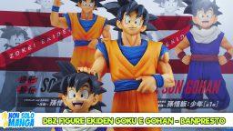 Manganalisi di DBZ Figure Ekiden Goku e Gohan – Banpresto