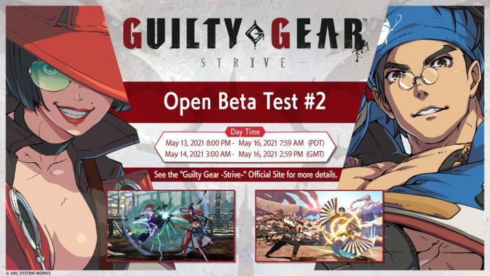 Guilty Gear Strive beta