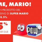 Il merchandising di Super Mario è in promozione da GameStopZing
