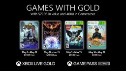 Xbox Games With Gold maggio