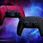 DualSense Midnight Black Cosmic Red