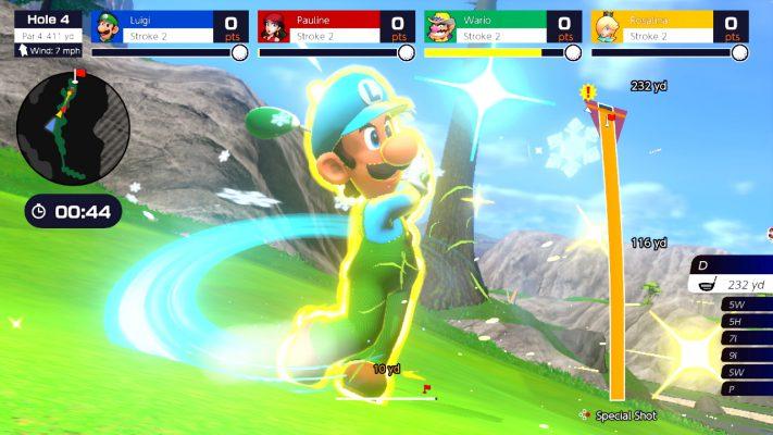 Mario Golf: Super Rush panoramica