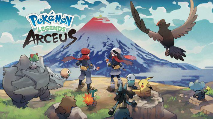 Leggende Pokémon: Arceus data