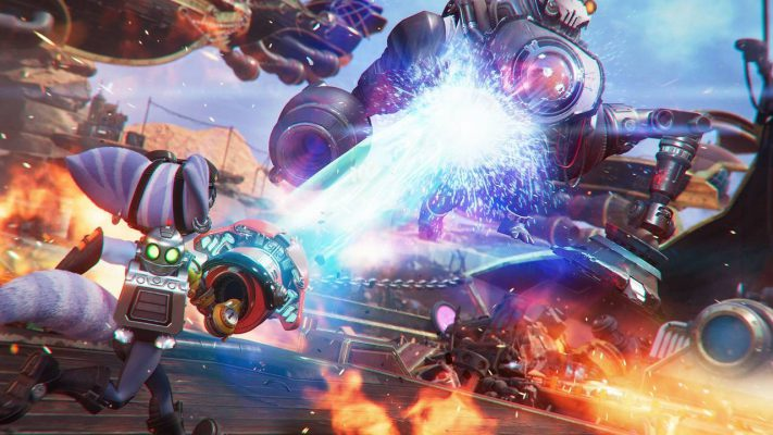 Ratchet & Clank: Rift Apart trailer armi gadget