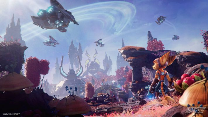 Ratchet & Clank: Rift Apart trailer esplorazione