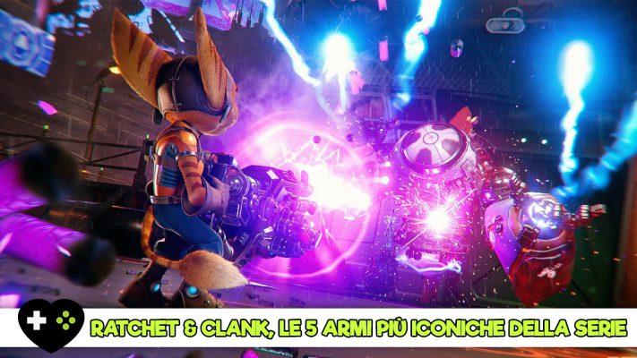Ratchet & Clank speciale armi iconiche