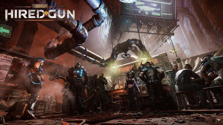 Necromunda Hired Gun gameplay