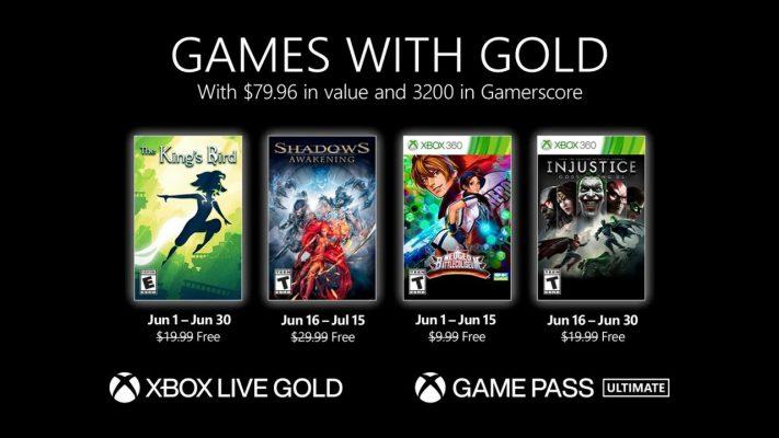 Xbox Gold giugno