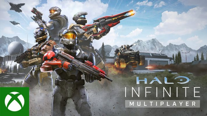 Halo Infinite trailer multiplayer