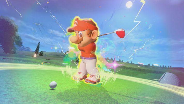 Mario Golf: Super Rush spot