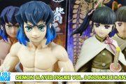 Manganalisi di Demon Slayer Figure Vol. 8 Inosuke e Kanao – Banpresto