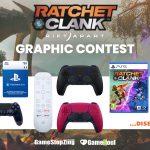 Viaggia negli universi della creatività! Ratchet & Clank: Rift Apart GRAPHIC CONTEST!