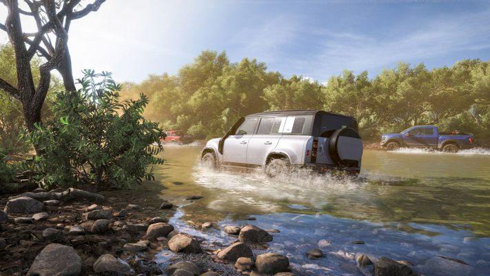 Forza Horizon 5 usa il ray tracing per l'audio design