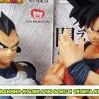 Ichibansho Figure Son Goku e Vegeta Strong Chains – Banpresto