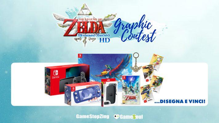 Vola con la Creatività! Partecipa al The Legend of Zelda: Skyward Sword HD Graphic Contest!