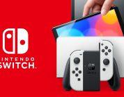 Nintendo Switch OLED copertina