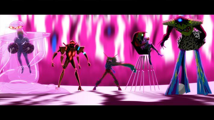No More Heroes III trailer alieni