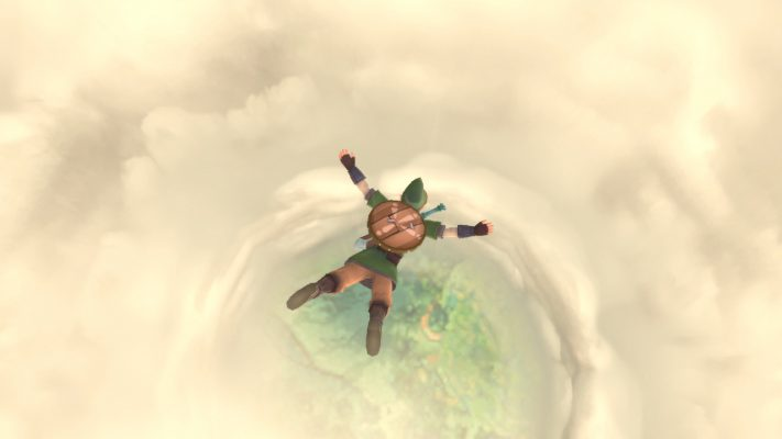The Legend of Zelda: Skyward Sword trailer eroe