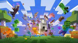 Minecraft Caves & Cliffs: ottieni la felpa Glow-Squid da GameStopZing