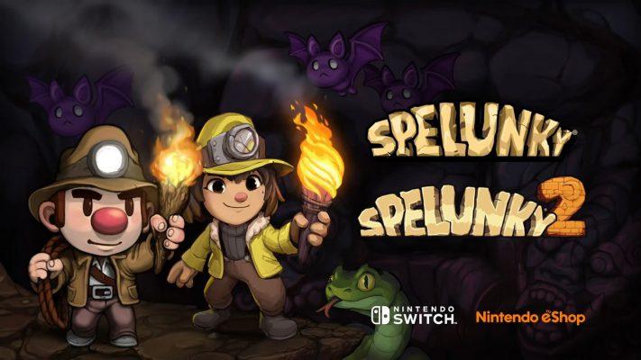 Spelunky Switch