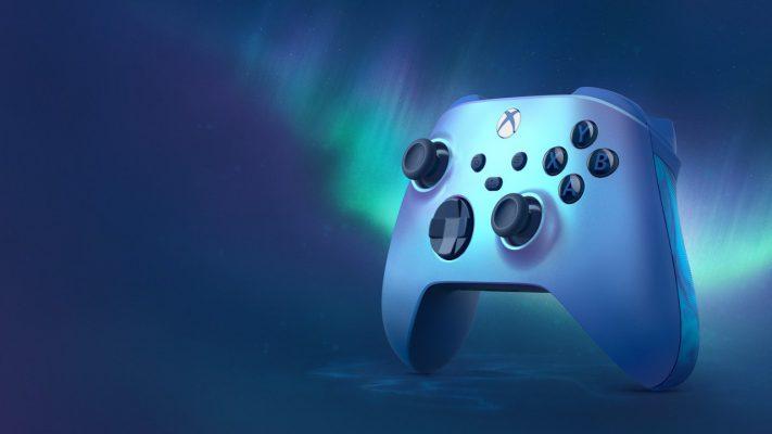 Xbox controller Aqua Shift