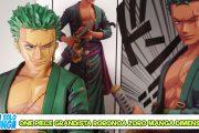 Manganalisi di Grandista Roronoa Zoro Manga Dimensions – Banpresto