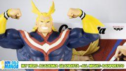 Manganalisi di My Hero Academia Grandista All Might – Banpresto