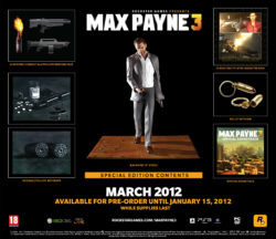 Special Edition per Max Payne 3!