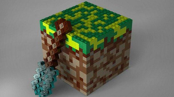 Lego dedica una linea di giocattoli a Minecraft!