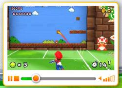 Online il sito ufficiale di Mario Tennis Open