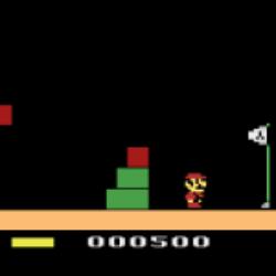 È giocabile il demake di Super Mario Bros. per Atari 2600!