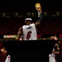 2k Sports si congratula con LeBron James per il titolo NBA